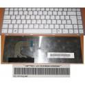 Teclado NUEVO español Sony Vaio VPC-S series, blanco con marco r