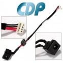 DC Jack con cable para Toshiba Satellite  (PJ204)